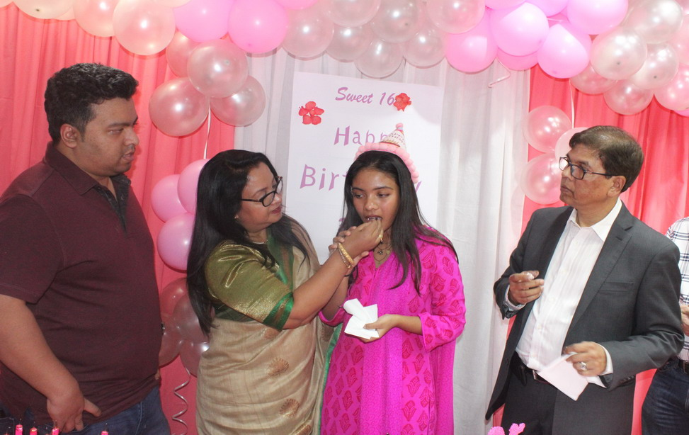 Birthday Celebration of Ms. Raisa Sufia Khan, Daughter of Managing Director