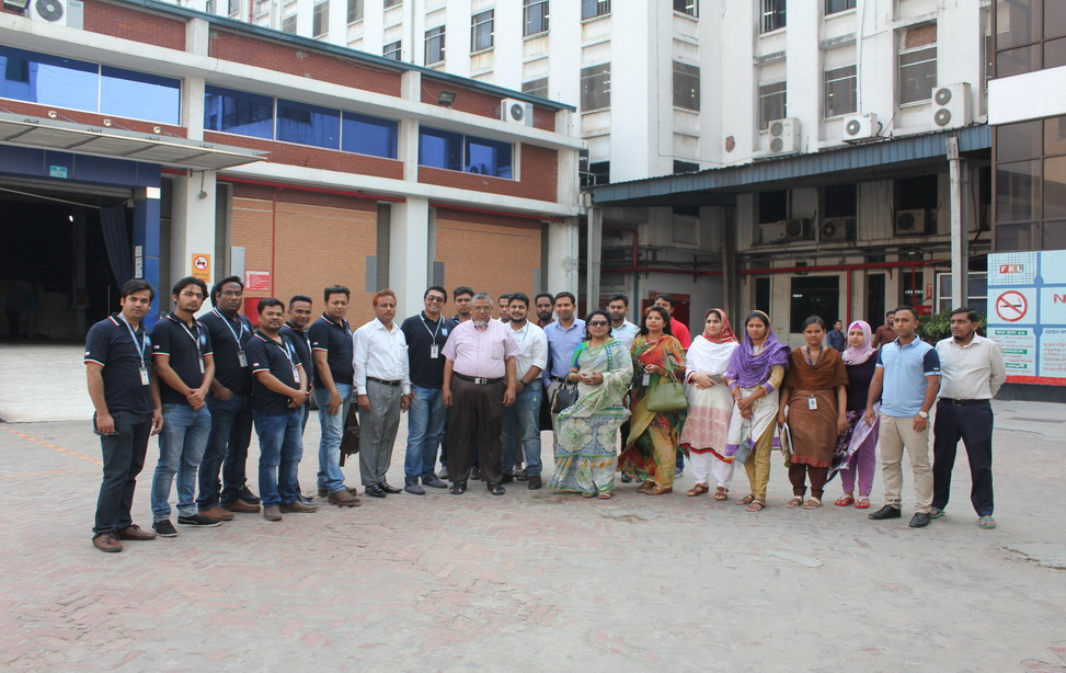 Team HR of Ananta Visited Fakir Knitwear Ltd.