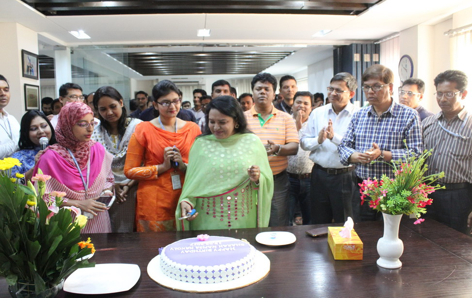Birthday Celebration of Associate Director of HR, Ms. Sharah Nafisa Kakoly