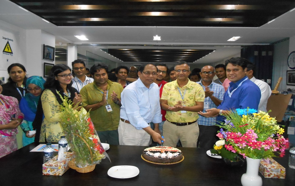 Birthday Celebration of Sr. GM, Mr. Kamal Uddin Ahmed
