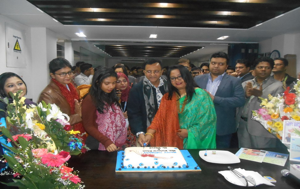 Birthday Celebration of Mrs. Kishwar Khan and Mr. Masud Ahmed